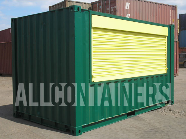 Powder Coated Container Colour