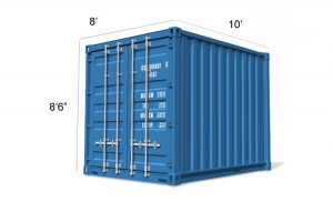 Container Conversion 10ft - Biomass and Boiler Housing