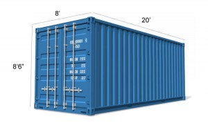 Container Conversion 20ft - Biomass and Boiler Housing