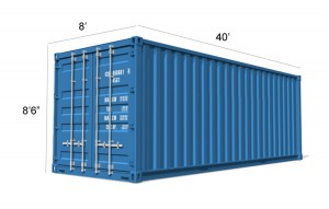 Container Conversion 40ft - Biomass and Boiler Housing