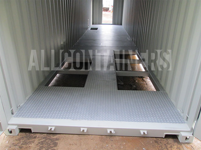Shipping Container Accessories Overlay Flooring All