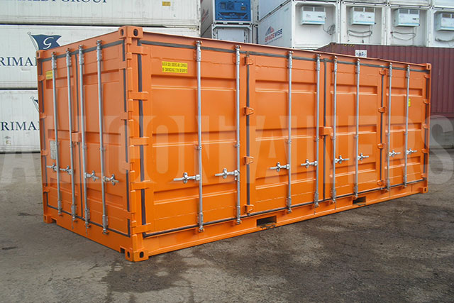 open-side-shipping-container